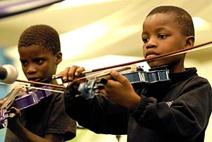 Grass Root Orchestra 2010 - musical education